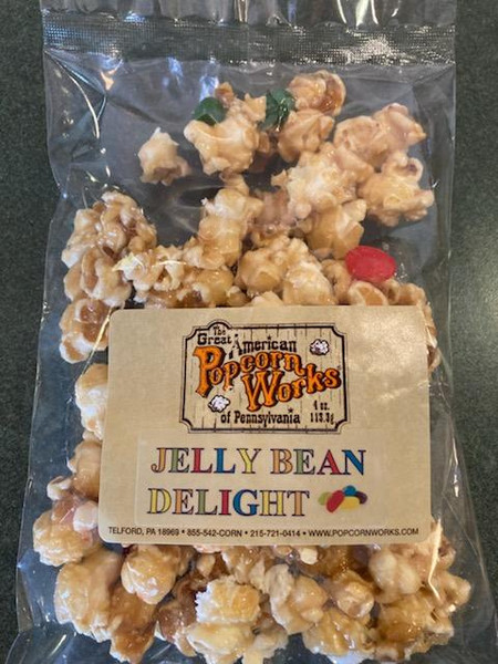 Jelly Bean Delight Caramel Popcorn- Easter in each bag!! Get enough to share.