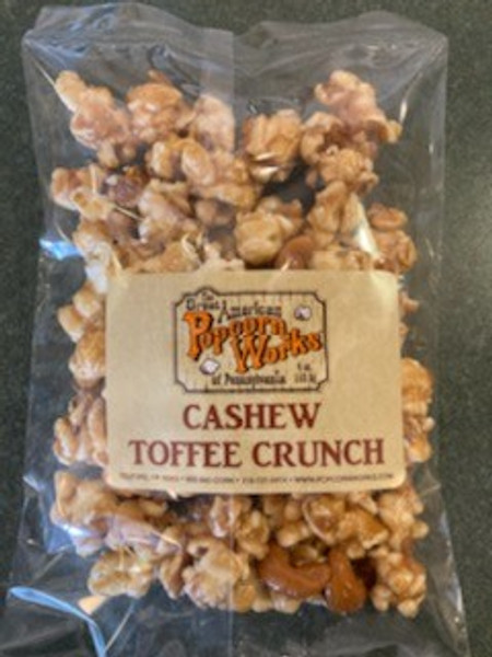 Cashew Toffee Crunch - Excellent classic Toffee Caramel loaded with fresh cashews. If you haven't already, try this one.