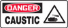 MCHL020VA Danger Caustic Sign