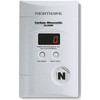 Carbon Monoxide Alarm w/ Digital Readout, Battery Back Up and Direct Plug