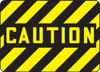 Caution - Adhesive Vinyl - 10'' X 14''