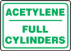 Acetylene Full Cylinders - Plastic - 10'' X 14''