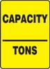 Capacity ___ Tons - Plastic - 14'' X 10''