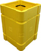 Park Sentry Column Protector - Kit- Yellow