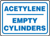 Acetylene Empty Cylinders - Accu-Shield - 10'' X 14''