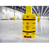 """Column Sentry Protector - 8"""" x 8"""" Square - Medium with Fire Extinguisher Cutout"""