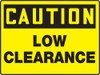 Caution - Caution Low Clearance - Max Alumalite - 48'' X 72''