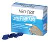 Blue Finger Cots Hi Vis Blue 144 per Box LARGE