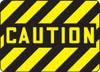 Caution - .040 Aluminum - 10'' X 14''