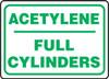 Acetylene Full Cylinders - Aluma-Lite - 10'' X 14''