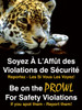 Be On The Prowl For Safety Violations If You Spot Them - Report Them