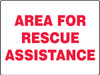 Area For Rescue Assistance