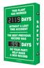 Digi Day 2 Electronic Safety Scoreboard Accuform SCG119