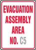 Evacuation Assembly Area No. ___