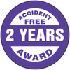 Accident Free Award 2 Years