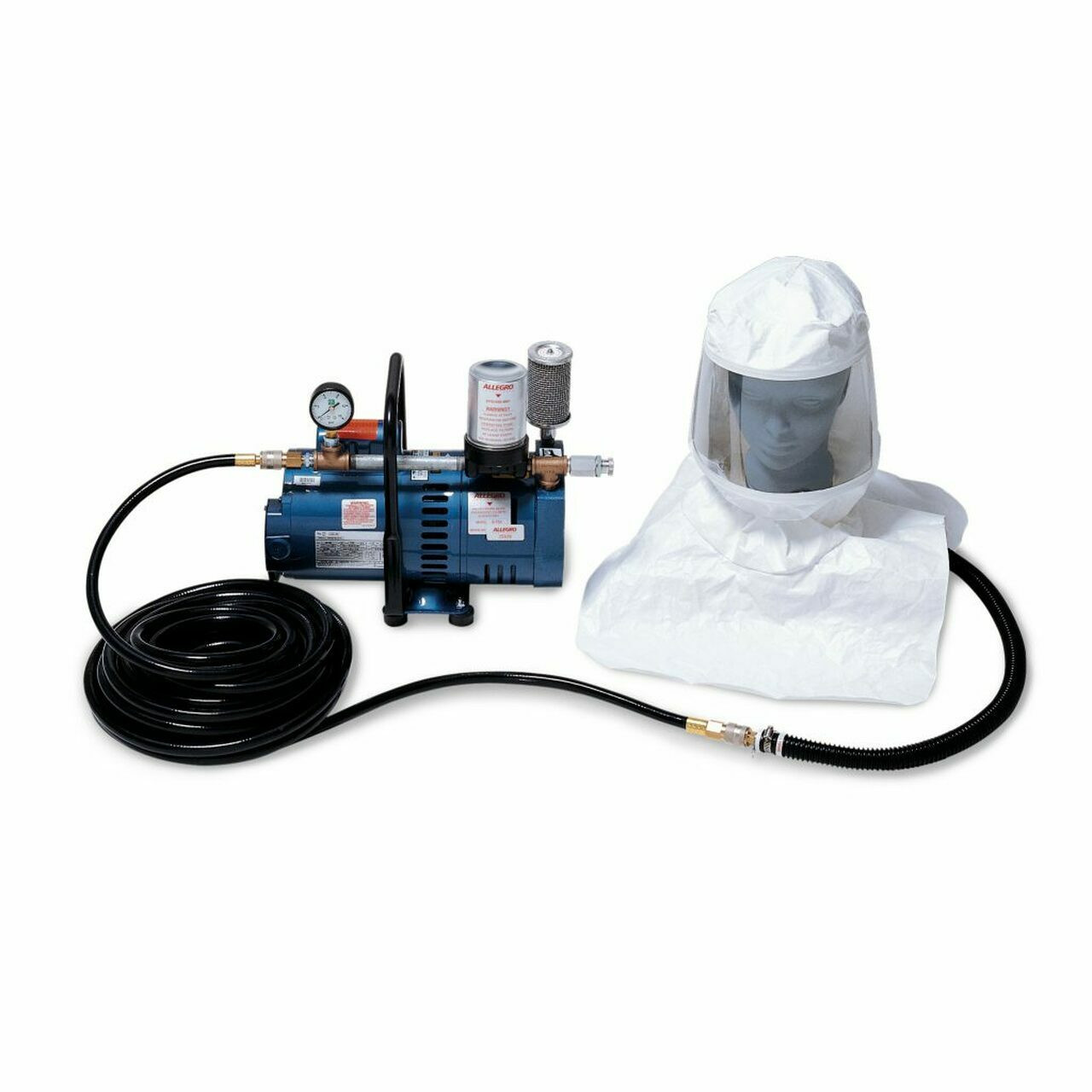 Supplied Air Respirator Hood Systems