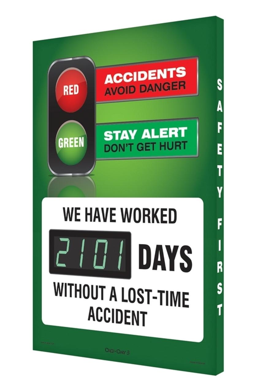Digi Day 3 Electronic Safety Scoreboards