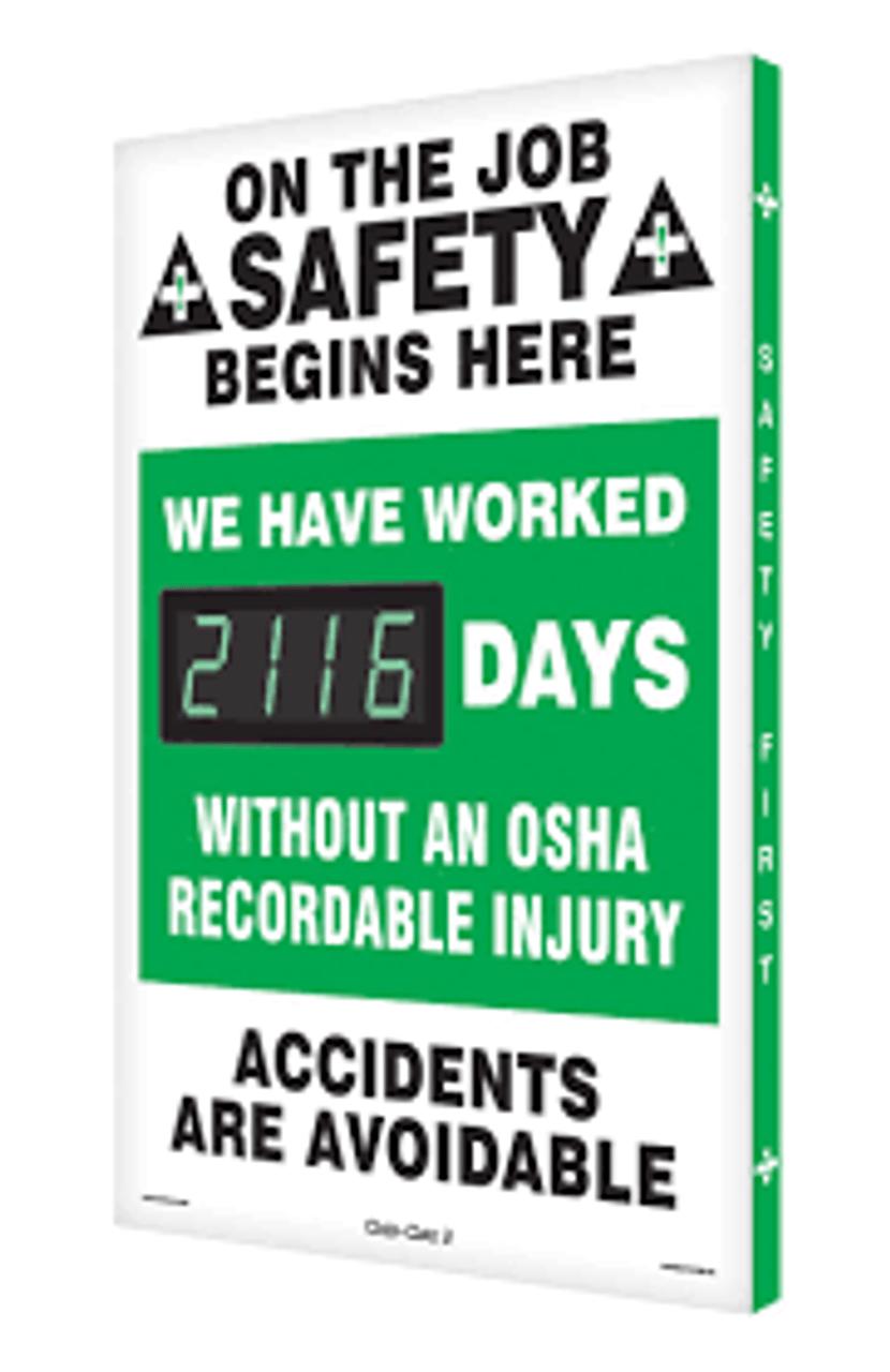 Best Selling Safety Scoreboards