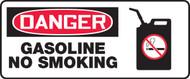 MCHL037 Gasoline no smoking sign