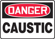 Danger Caustic Sign MCHL075XL