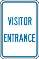 FRP274RA Visitor Entrance Sign