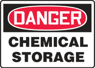 MCHL155VA Danger Chemical Storage Sign