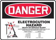 Electrocution Hazard Death Or Serious Injury