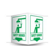 PSP603 Safety Shower Sign 3D