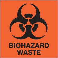 Biohazard Waste Labels