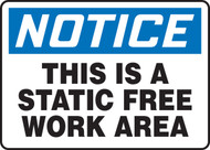 Notice - This Is A Static Free Work Area