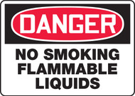 Danger - No Smoking Flammable Liquids