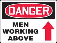 Danger Men Working Above