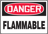 MCHL069XV Danger Flammable Sign