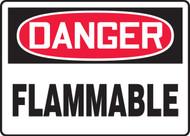 MCHL069XV Danger Flammable Sign
