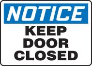 MABR800XP Notice keep door closed sign