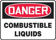 Danger - Combustible Liquids