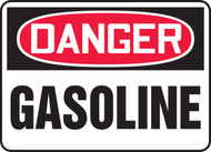MCHD72BVP Danger Gasoline Sign