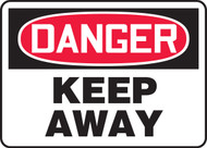 MADM144XT Danger keep away sign