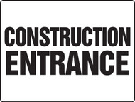 Construction Entrance Sign MADM500