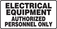 MELC510VP ELectrical Equipment Authorized Personnel Only Sign