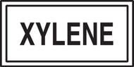 Xylene Label- Chemical Hazard Labels