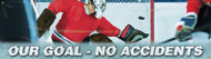 Motivational Safety Banner- Our Goal No Accidents Banner
