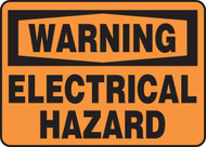 Warning - Electrical Hazard