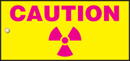 Caution Radiation Slide Sign Header