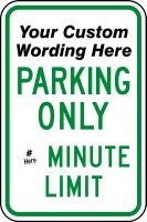 Parking Sign- Semi Custom