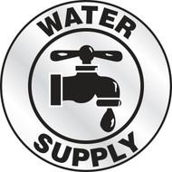 Water Supply Emergency Response Helmet Sticker
