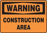 Warning - Construction Area