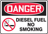 Danger - Diesel Fuel No Smoking
