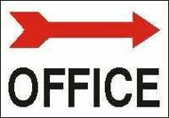 Office Sign- Arrow Right