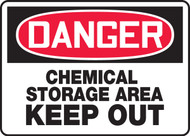 Danger - Chemical Storage Keep Out
